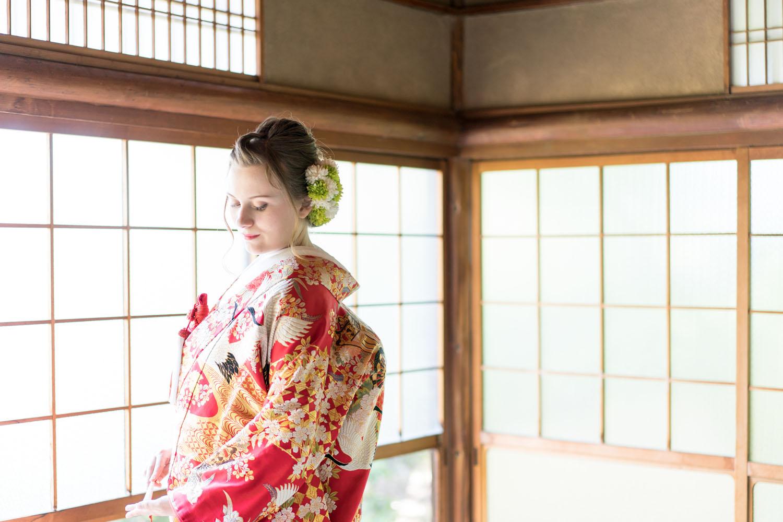 かわいい外国人の花嫁さん